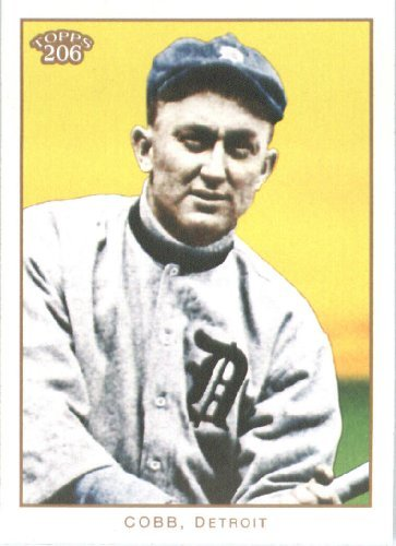 Ty Cobb Cards - 2009 Topps 206 Baseball Card #66 Ty Cobb