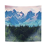 YAMUDA Dorm Decorate Vivid Tapestry Wall Hanging, Apartment Decor Collection, Bedroom Living Room Dorm Tapestries (Mountain)