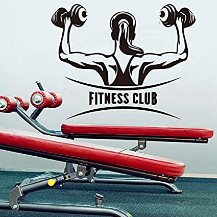 Rureng Mancuernas Femeninas Fitness Club Etiqueta De La Pared Para Mujeres Barbell Gym Arm Fitness Ejercicio