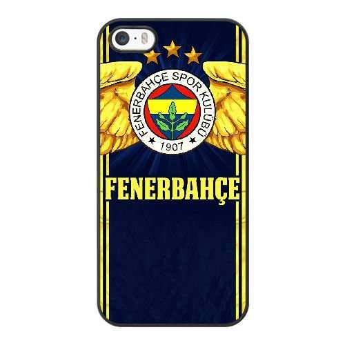 New Stylish Hard Case Cover For iPhone 5 5S SE / Black /Fenerbahce SK/ Free Screen Protector / A-A0259793