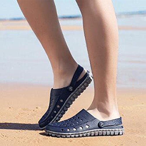 Beach Shoes da Uomo Sandali Casual Slippers Blue Cave Estivi Outdoor ZHONGST 7w8qRzTT