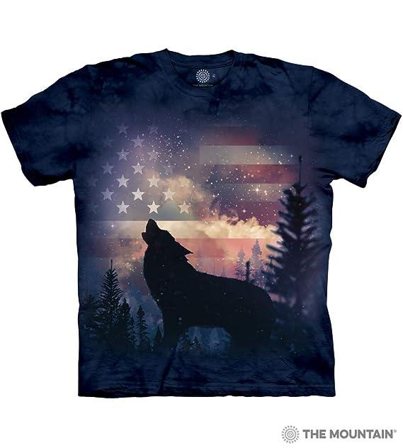 7e54708662 The Mountain Men's Patriotic Howl Tee