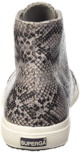 Superga 2095-plus Cotsnakew - Zapatillas de deporte Mujer 908 Snake Grey-Dk