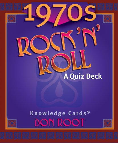 (1970's Rock 'N' Roll Knowledge Cards Deck by Pomegranate (2006-05-01))