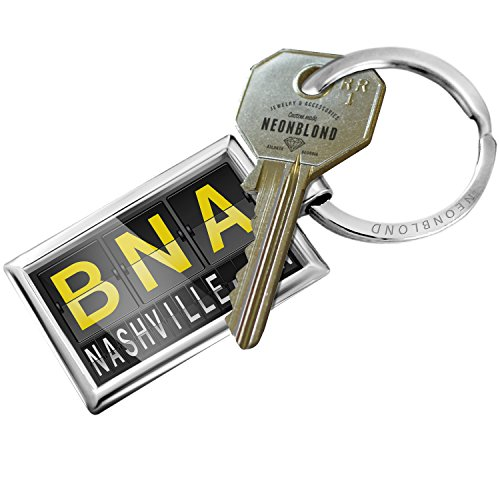 Keychain BNA Airport Code for Nashville, TN - - Airport Tn Nashville