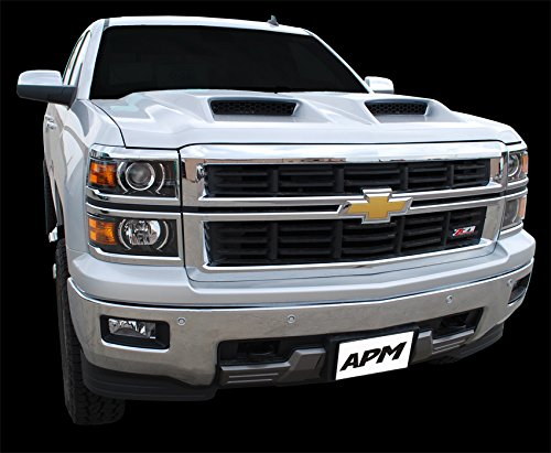 Chevrolet Silverado APM Ram Air Hood Fully Functional Fits 1500 Series 2014 and 2015. Part ()