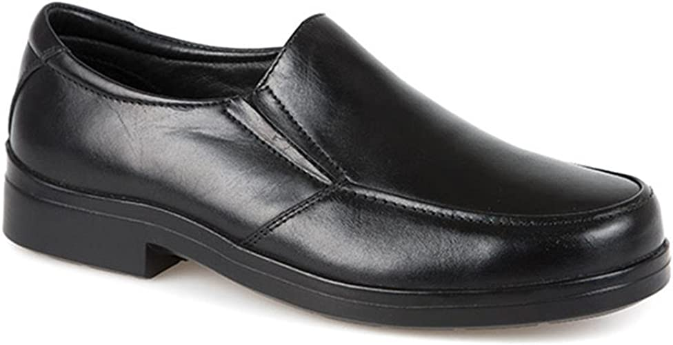 Pavers Extra Wide Dual Fit Leather Slip