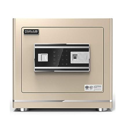 Cajas de caudales Seguridad de la Huella Dactilar Segura para el hogar pequeña Alarma de Pared