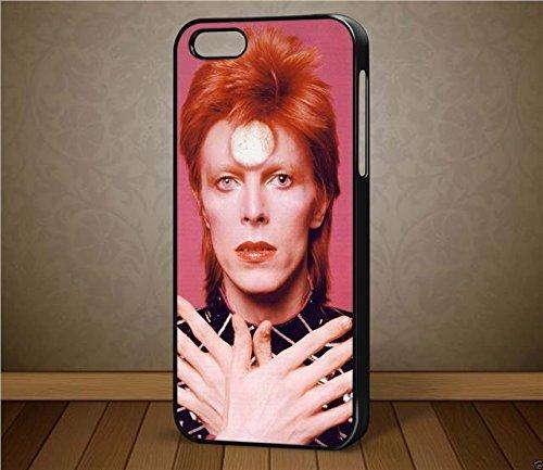 David Bowie Ziggy Stardust Design 3–pour iPhone et Samsung cas (Téléphone Noir iPhone 6Plus)