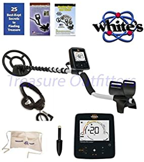 WHITES TREASUREPRO METAL DETECTOR With FREE Whites Treasure Pouch, Starlite Headset, & Whites Black