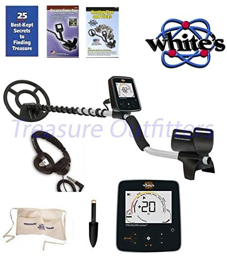 WHITES TREASUREPRO METAL DETECTOR With FREE White's Treasure Pouch, Starlite Headset, & White's Black Digging tool. by White's Electronics