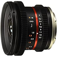Rokinon Cine CV12M-M 12mm T2.2 Cine Lens for Canon M and Other Cameras