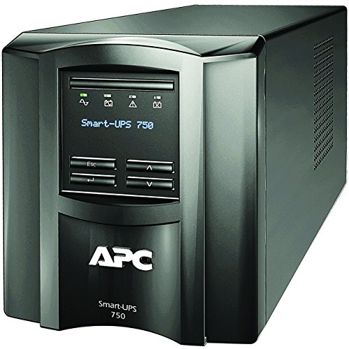 APC Smart-UPS SMT750C with SmartConnect, Tower, 750VA/500W