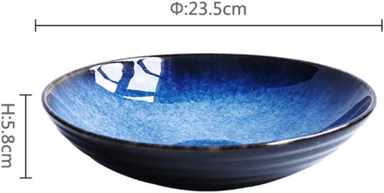 XKP Japonais Bol de Nouilles Manger,Grand Soupe Bol,Bol /à Riz Millet Cr/éatif Personnalit/é Accueil Bol en c/éramique-A 15x8cm 6x3inch