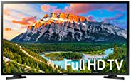 "Samsung UN43J5290AFXZX Smart TV 43"" Full HD, 2 HDMI, 1 USB, Black Hairline ("