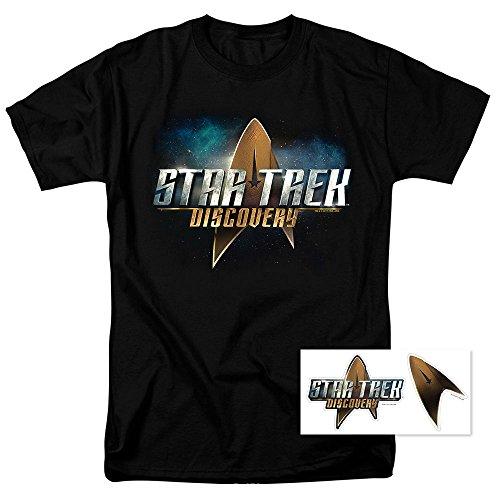 Popfunk Star Trek Discovery Logo T Shirt