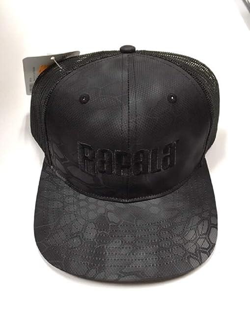 6639f6494 Amazon.com: Richardson Rapala Trucker Hat Black Kryptek: Sports ...