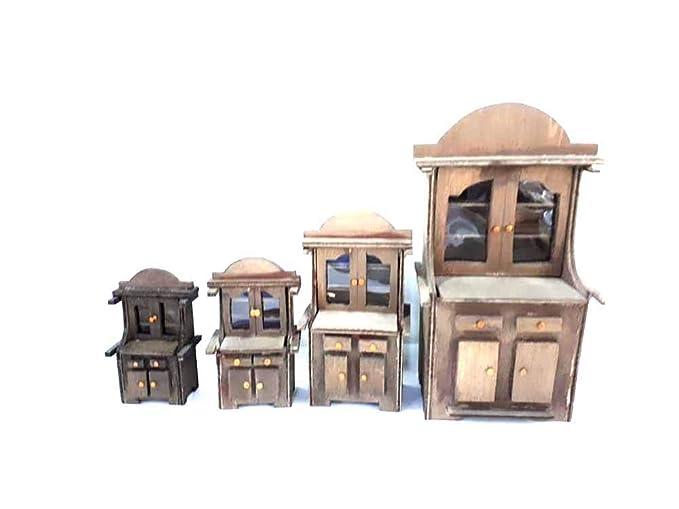 Credenza Per Presepe : Mobile credenza in legno alto cm da maestri artigiani san