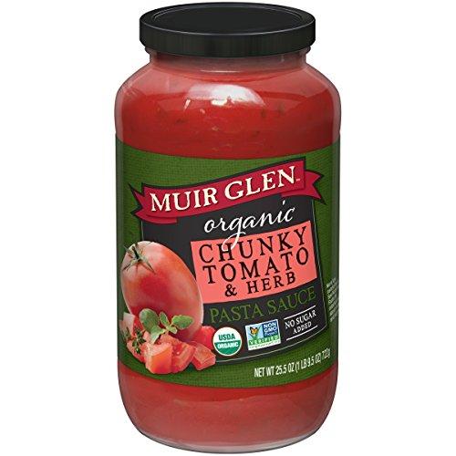 Muir Glen Pasta Sauce - Muir Glen Organic, Pasta Sauce, Chunky Tomato & Herb, 25.5 oz