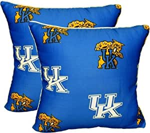 Decorative Pillows For College : Amazon.com: College Covers Kentucky Wildcats Decorative Pillow (Set of 2), 16 by 16