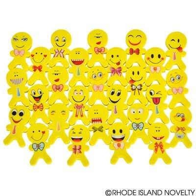 (Just4fun - 2 Dozen (24) Emoji Emoticon ERASERS 2