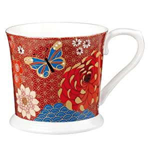 Hidden World Churchill China HIDW00311 Taza de porcelana, diseño de mariposas