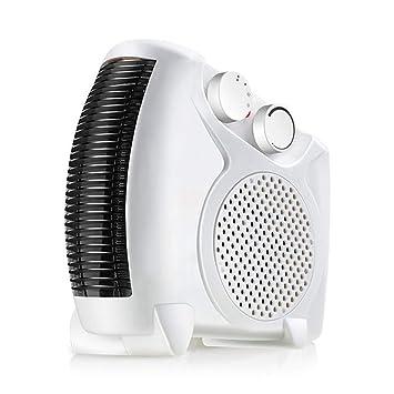 QINAIDI Mini Calentador eléctrico Ventilador de Aire Caliente frío Espacio portátil Oficina en casa Calentador de Invierno Ventilador Calentador de Aire ...