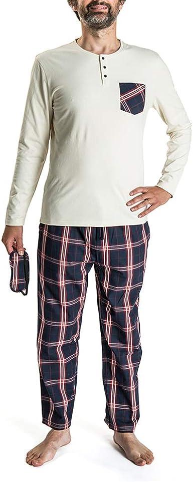 Nightoclock Bram Conjunto de Pijama para Hombre en algodón ...