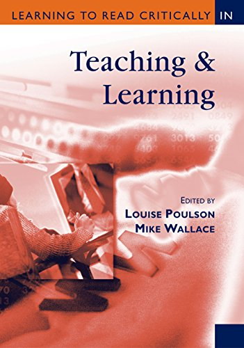 Learning to Read Critically in Teaching and Learning (Learning to Read Critically series) Pdf