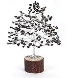 Rastogi Handicrafts Gemstone Lucky Tree Feng shui decorative Showpiece Vastu Carnelian Stone Table Decor