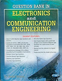 Question Bank In Electronics And Communication Engineering 1st Edition price comparison at Flipkart, Amazon, Crossword, Uread, Bookadda, Landmark, Homeshop18