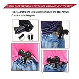 RM FOLD ART 2 Pack Belly Band Gun Holster Belt