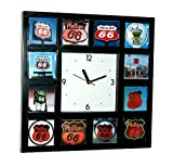 Phillips 66 Gas Oil Sign Collection Wall or desk clock Review
