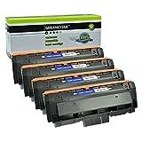 GREENCYCLE 4 Pack Black Compatible for Samsung 116L MLT-D116L MLTD116L Toner Cartridges High Yield use in Samsung Xpress SL-M2825DW SL-M2835DW/XAA SL-M2885FW/XAA SL-M2875FD/FW CL-M2625D Imaging Unit