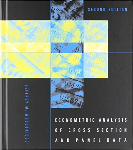 Econometric analysis of cross section and panel data mit press econometric analysis of cross section and panel data mit press 9780262232586 economics books amazon fandeluxe Gallery