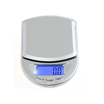 ZHANGYUGE Portátil exacta 200G/0.01G Mini Electrónica Digital Balanza de Joyas de Diamantes de una báscula de pesaje Diamantes Spice Monedas de Oro Medi ...