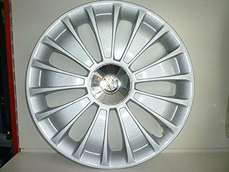 Juego de Tapacubos 4 Tapacubos Alfa Romeo Mito Diseño de Desde 2009 r 16: Amazon.es: Coche y moto