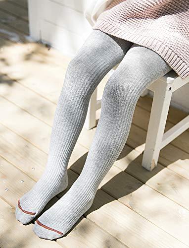 512lHW4twwL Hecho en algodón su tacto cómodo y sauve lo hacen ideal para todo tipo de ocasiones Leotardos de canalé lisos con poco elastán son adapta de la pierna, para más movimiento Material: 80% Algodón, 15% Nylon, 5% Elastano