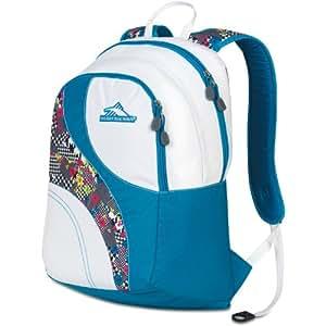 High Sierra Nami Backpack, Blue Print/White, 18.5x12.5x8-Inch