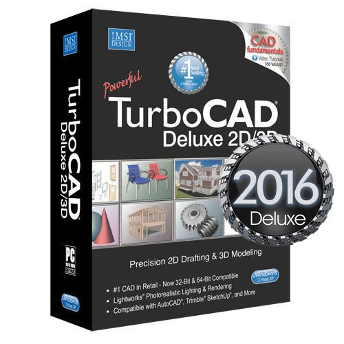 IMSI Design TurboCAD Deluxe V2016 by IMSI Design