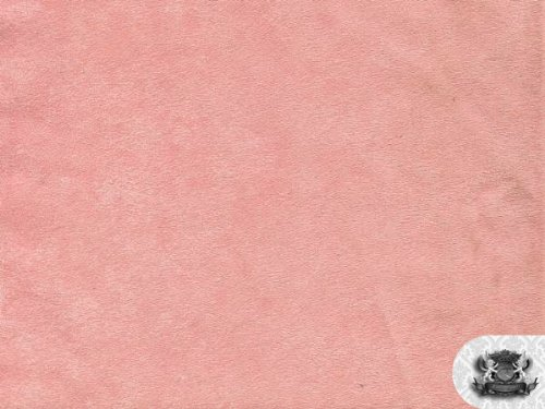 Passion Suede #61 PINK Fabric By the yard