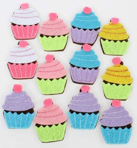 Felt Cupcake - 5