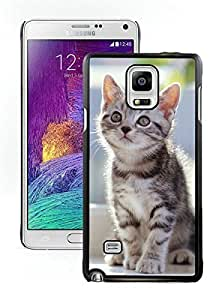 2014 New Style Christmas Cat Black Samsung Galaxy Note 4 Case 13