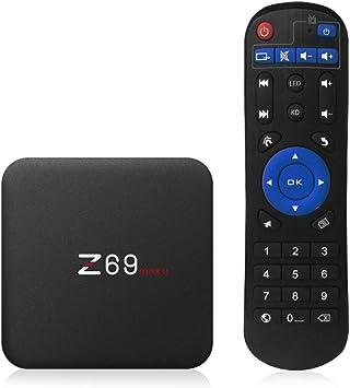 Docooler Z69 MAXII Smart Android 7.1.2 TV Box Amlogic S912 Octa-Core 64 bit VP9 H.265 UHD 4K HDR 3GB / 32GB 2.4G y 5G WiFi 1000M LAN BT 4.1 HD Media Player: