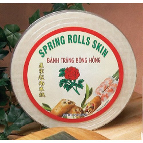 Spring Roll Wrapper Ingredients - Spring Roll Wrappers Rice Paper - 10 X 12 Oz Per Case