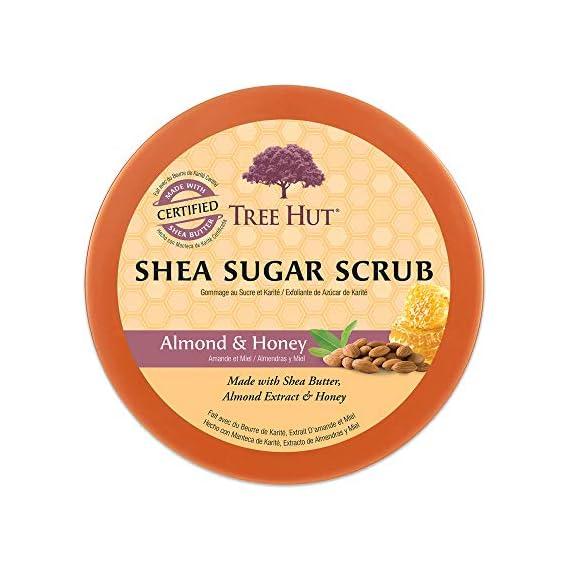 Tree Hut Sugar Body Scrub 18 Ounce Almond And Honey Shea (532ml)