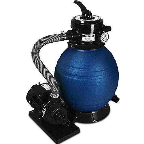 Sandfilter Sandfilteranlage 10 m³/h - Poolfilter Filteranlage Filterkessel