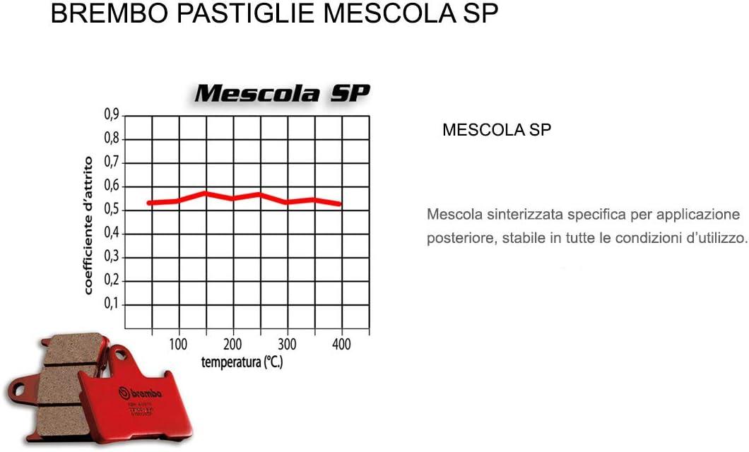 Pastiglie Brembo Freno Posteriori 07HO36.SP per HORNET//S 600 2000  2006
