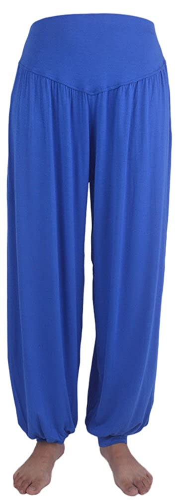 AvaCostume Womens Modal Cotton Soft Yoga Sports Dance Harem Pants 06-HY-4601