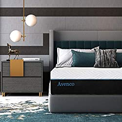 related image of Avenco King Mattress, 12 Inch King Memory